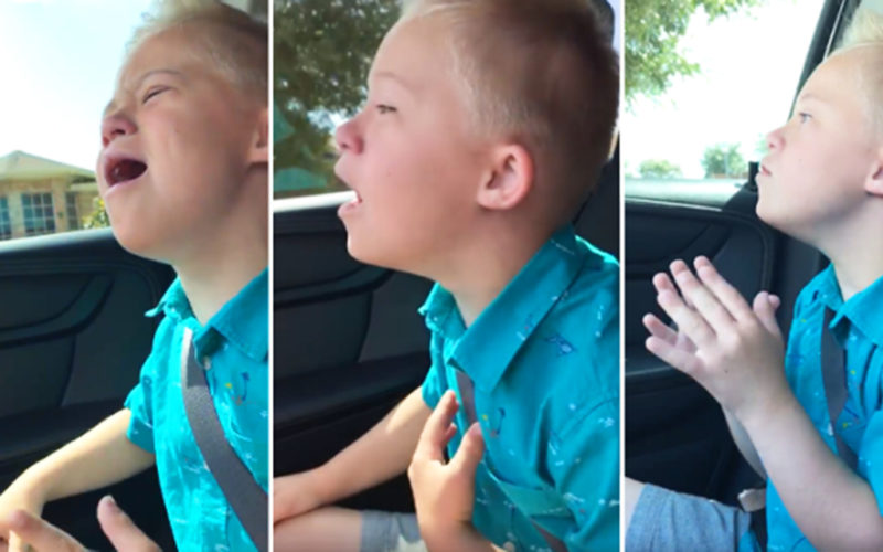 Более 35 миллионов просмотров. Солнечный ребенок подпевает под свою любимую песню из репертура Уитни Хьюстон