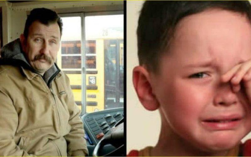 Мальчик тихо плакал на заднем сиденье. Водитель школьного автобуса сделал неожиданное