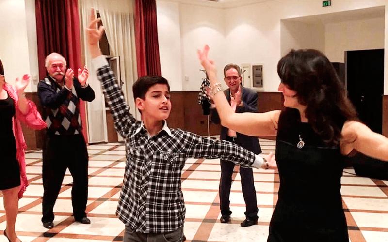 Талантливый мальчик показал настоящий класс своим танцем