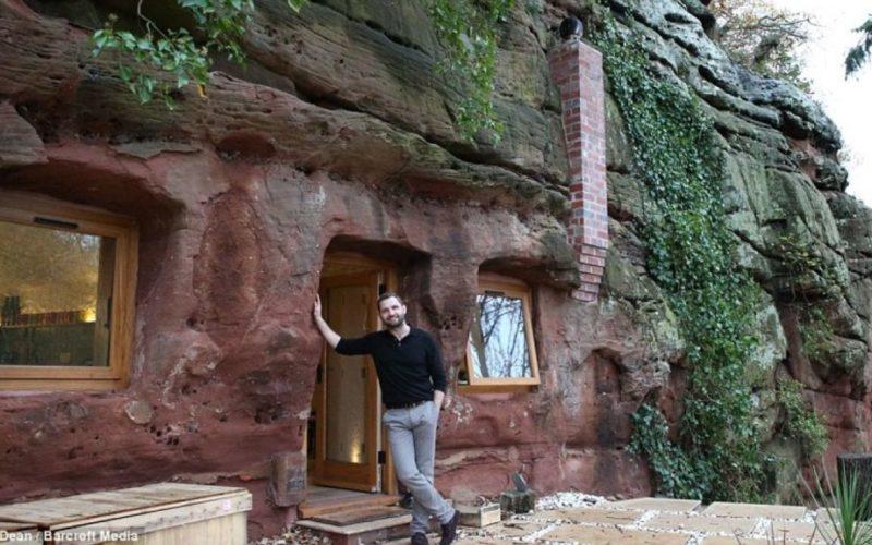 Превратил пещеру в дом своей мечты!