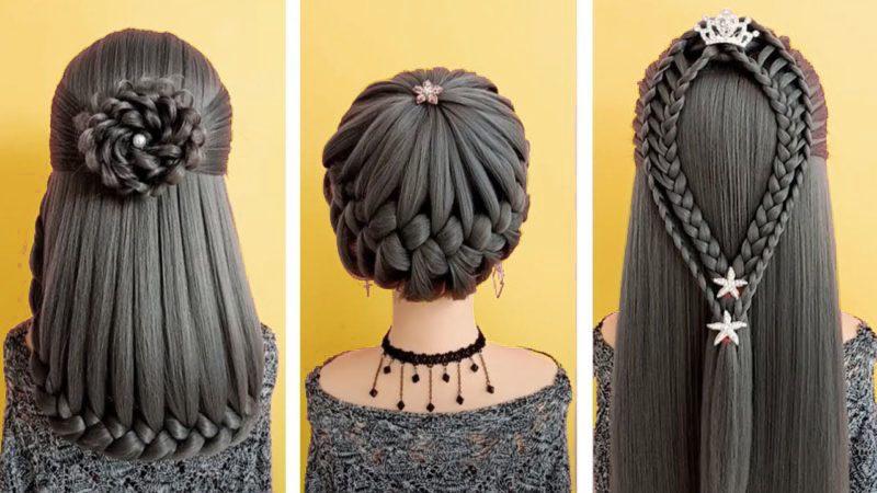 Красивые прически на длинных волосах. Делаем своими руками!