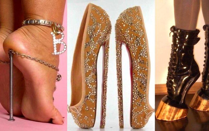 Мир моды представляет самые «удобные» туфли для дам