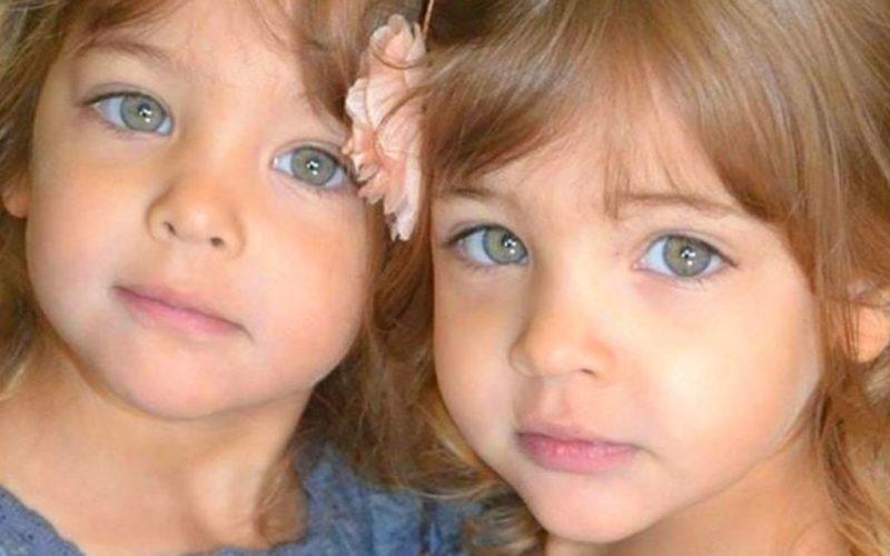Самым красивым близняшкам исполнилось по 9 лет. Вот какими они стали