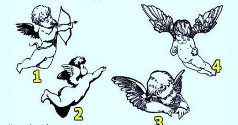 Выберите ангелочка и узнайте, что вас ожидает