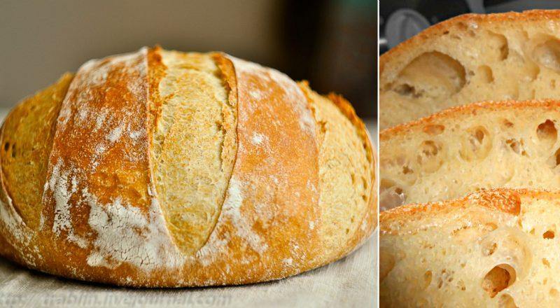 Вкусный хлеб без замеса, который стоит попробовать