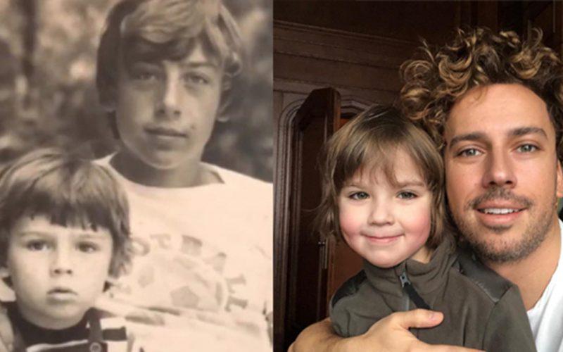 Сравним снимки знаменитостей и их детишек в одном и том же возрасте