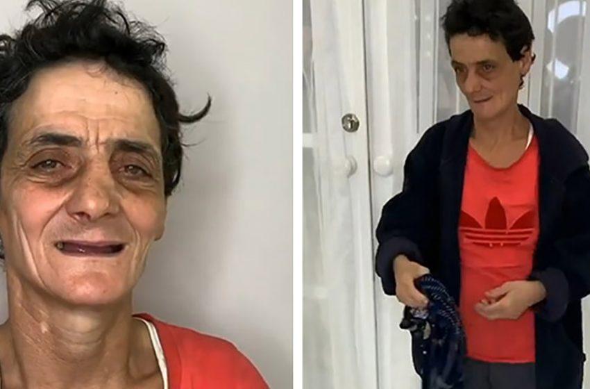 Эта бездомная женщина изменилась до неузнаваемости! Профессионалы поработали на славу