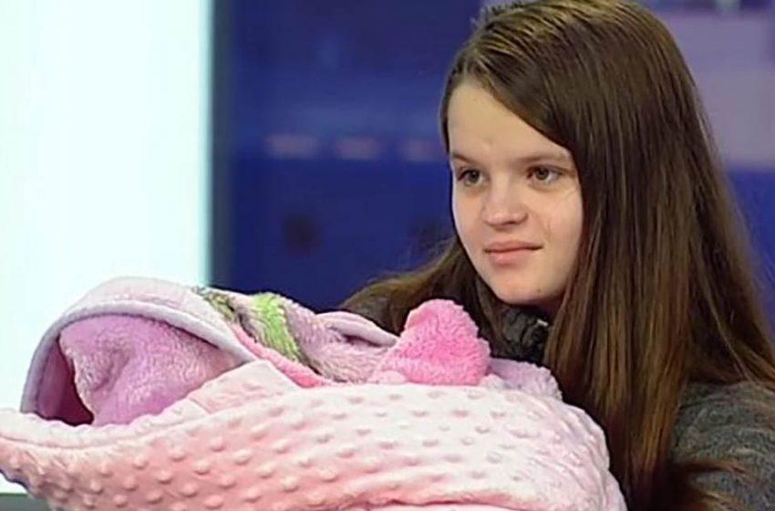 О чём мечтает украинка, родившая в 12 лет