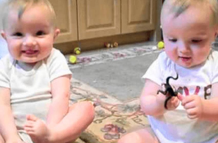 Видео близнецов, которые пародируют своего отца, набрало 17 миллионов просмотров