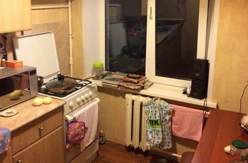 """Невероятный результат: кухня площадью в 6 квадратных метров """"до"""" и """"после"""" ремонта"""