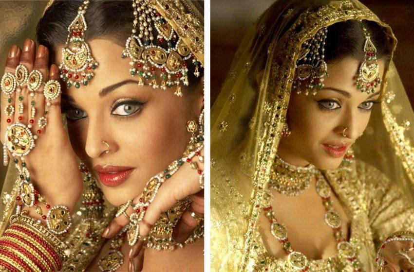 Архивные фотографии со свадьбы шикарной актрисы Айшварии Рай
