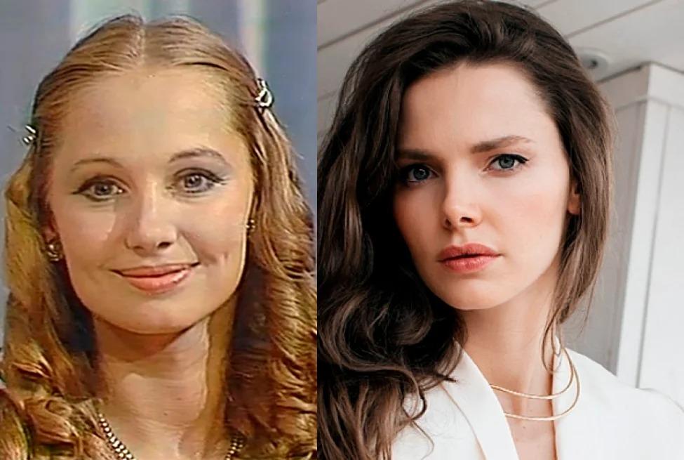 Известные и талантливые дочки прекрасных актрис из СССР