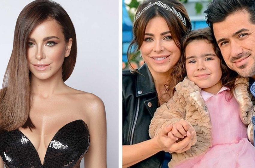 «Смешение кровей»: Ани Лорак показывает свою красавицу-дочь в микроблоге