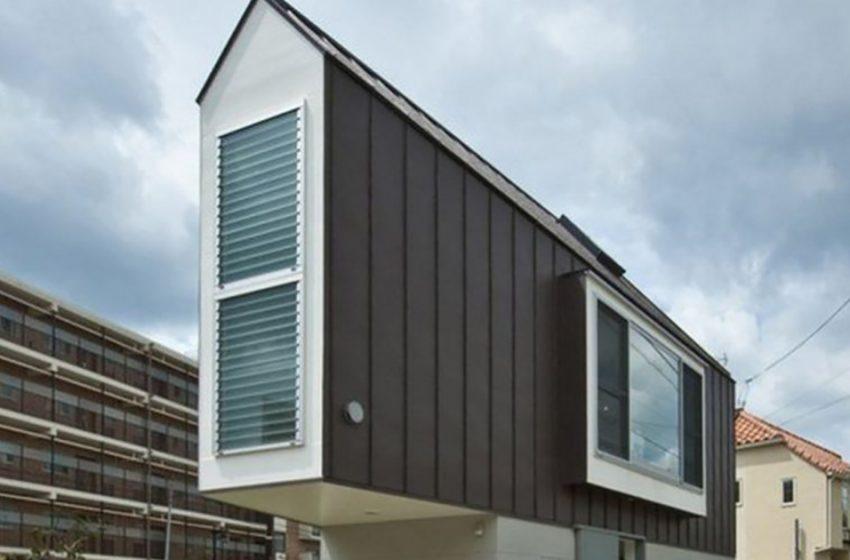 Крохотный дом в Японии, который изнутри больше, чем снаружи