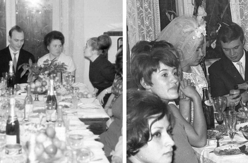 Какими были советские свадьбы  (фото)