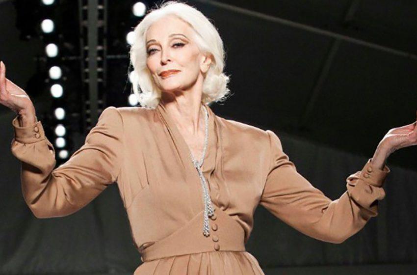 88-летняя модель: какой она была в молодости?