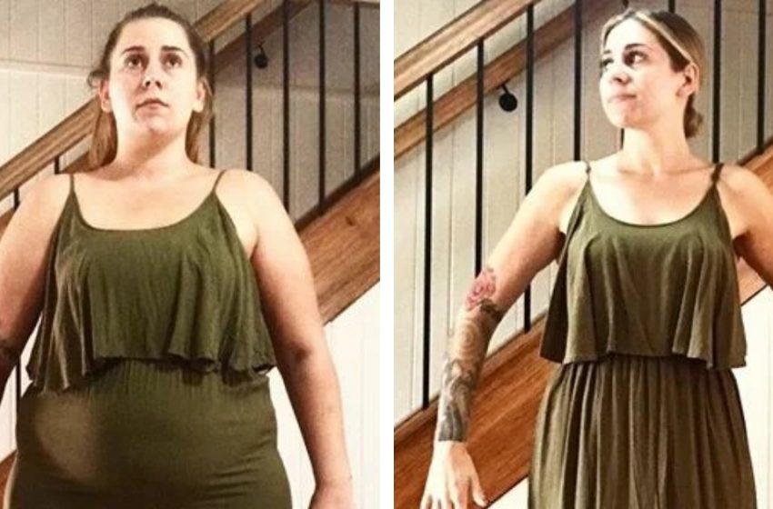 7 девушек в одинаковой одежде до и после похудения