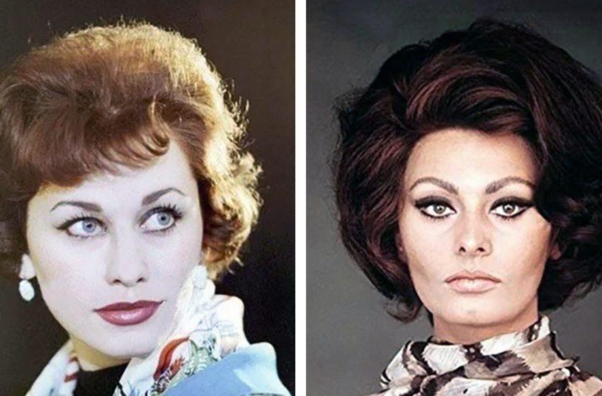 10 советских актрис, которые очень похожи на зарубежных звёзд