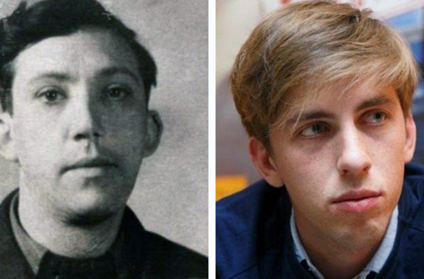 Внешность советских и современных актеров в одном и том же возрасте