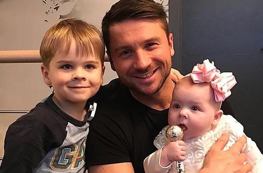 Сергей Лазарев выложил трогательное видео со своими детьми