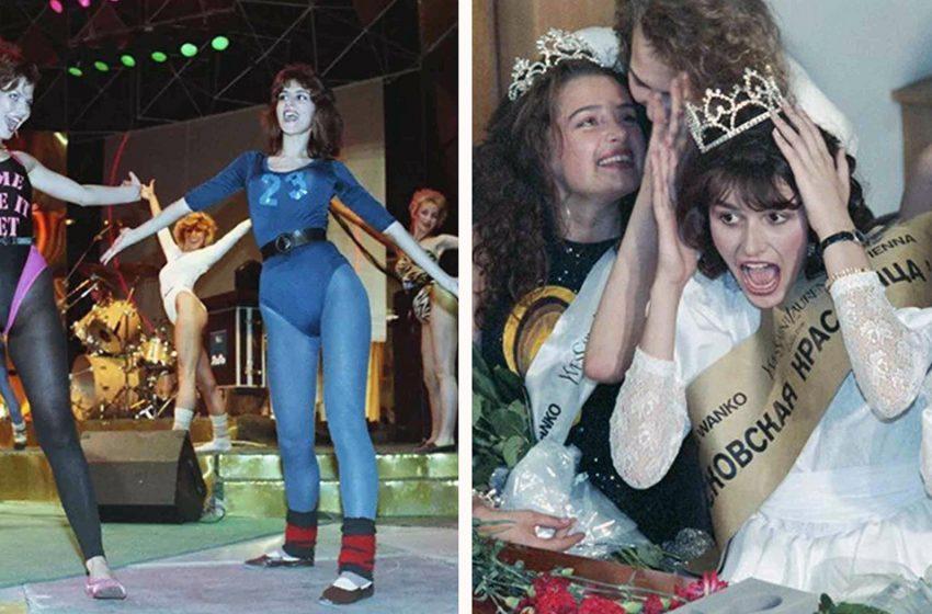Как проходил первый конкурс красоты в СССР в 1988-м году