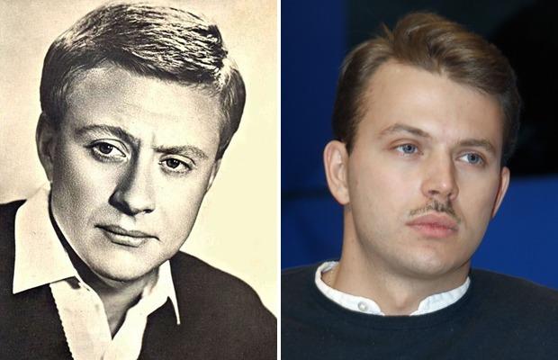 Необычайное сходство известных артистов и их внуков
