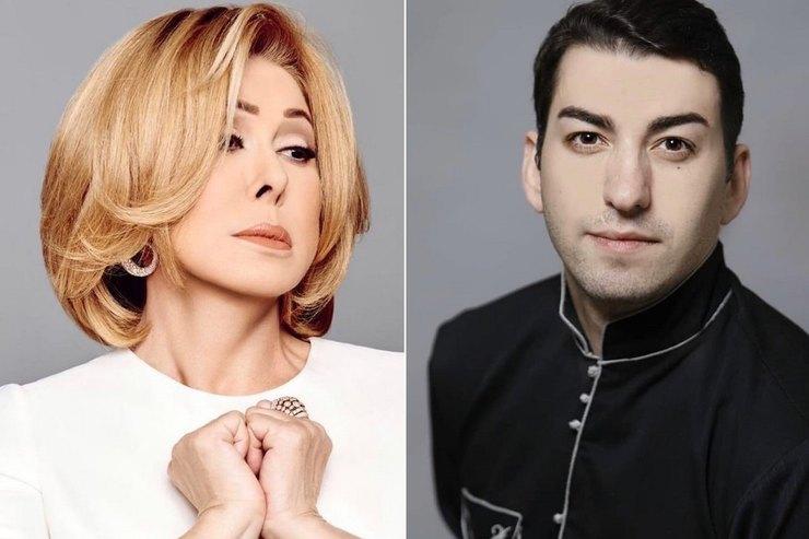 «Замечательный мальчик»: Любовь Успенскую подозревают в романе с молодым грузинским певцом