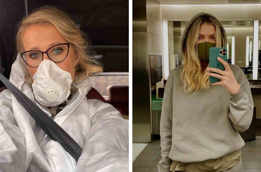Новые тренды пандемии. Отечественные звезды, которые сделали из средств защиты модный аксессуар