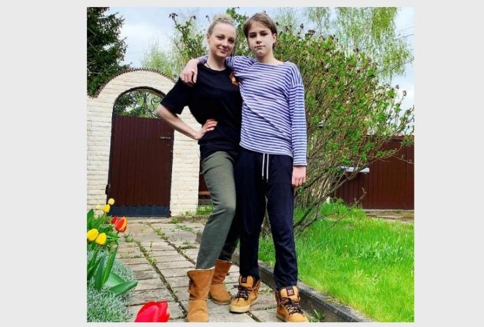 Одиннадцатилетний внук Евдокимова: семейные кадры из жизни мальчика.