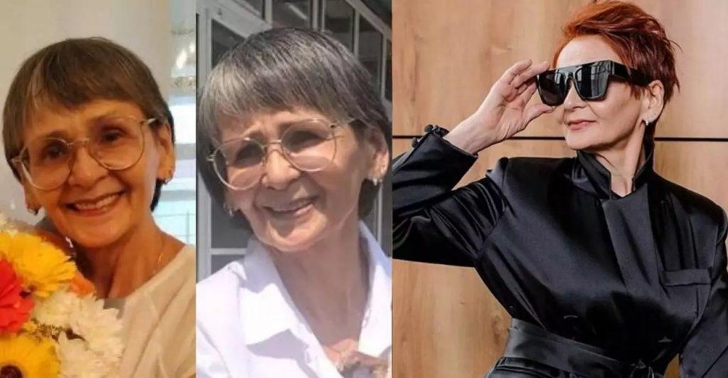 Стилист превратил обычную пенсионерку в прекрасную девушку. 64-летняя женщина помолодела лет на 20 и стала выглядеть как модель