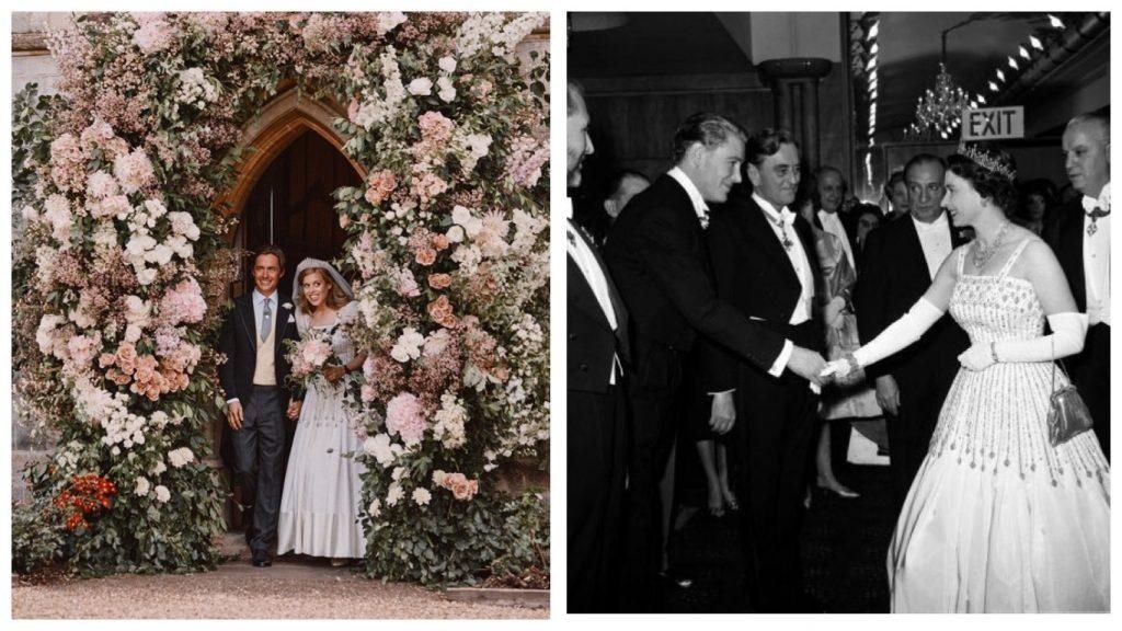 Британская принцесса надела на свадьбу в платье бабушки – Елизаветы II