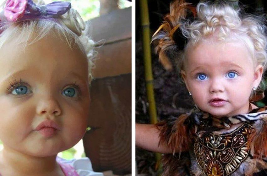 Как изменилась девочка с кукольной внешностью