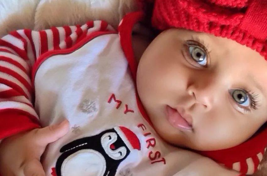Малышка с очень длинными ресницами, как она выглядит сегодня?