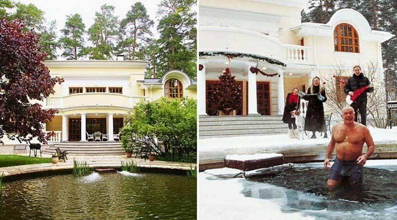 Как выглядит дом Никиты Михалкова в Николиной горе