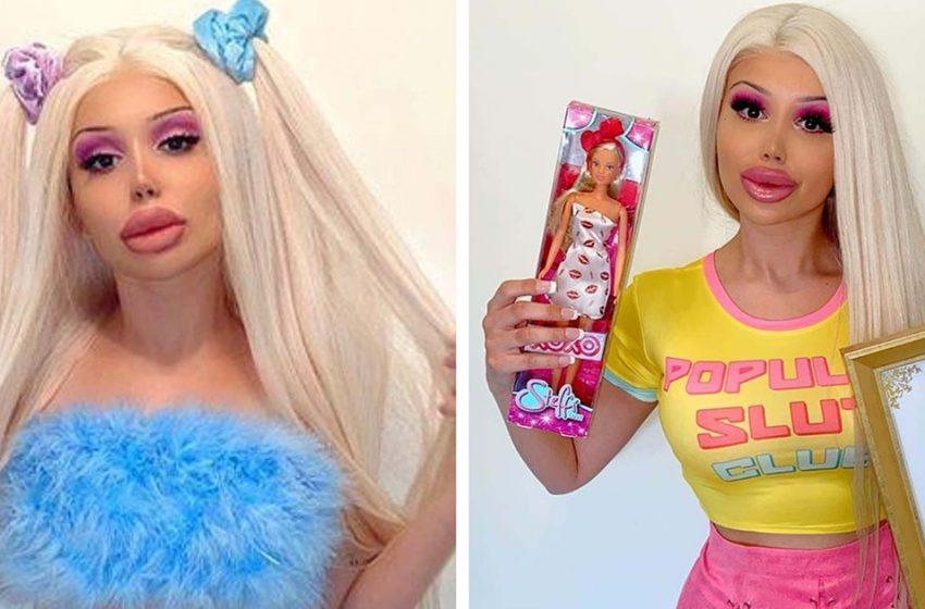 «Быть самой экстремальной версией себя»: «живая кукла» Стефани показала себя до пластики