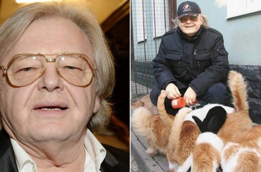 «45 кошек в одном доме?»: как сегодня живёт Юрий Антонов