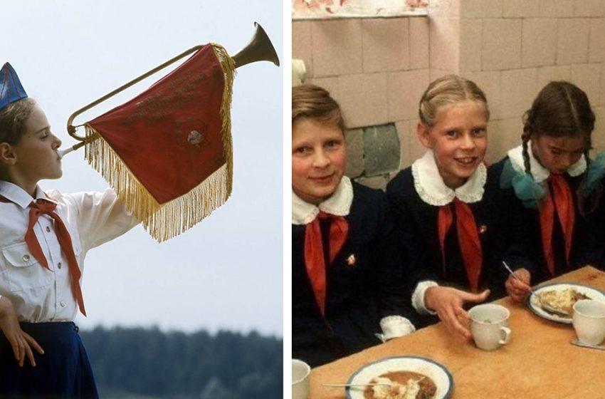 «Пионерское детство»: 20 кадров из жизни советских школьников