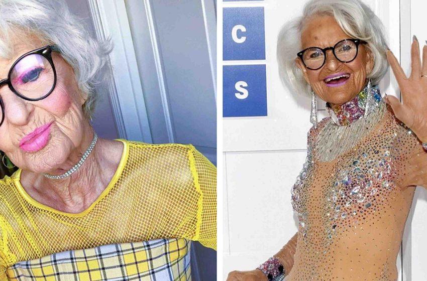 «Привет, Альцгеймер!»: 92-летняя блогерша очаровала сеть пикантными снимками