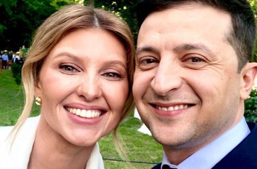 «Просто красавица»։ вот как выглядела первая леди Украины — Елена Зеленская