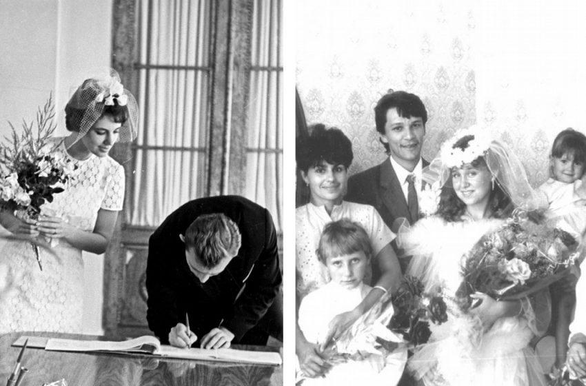 Просто и со вкусом: подборка свадебных фото времён СССР