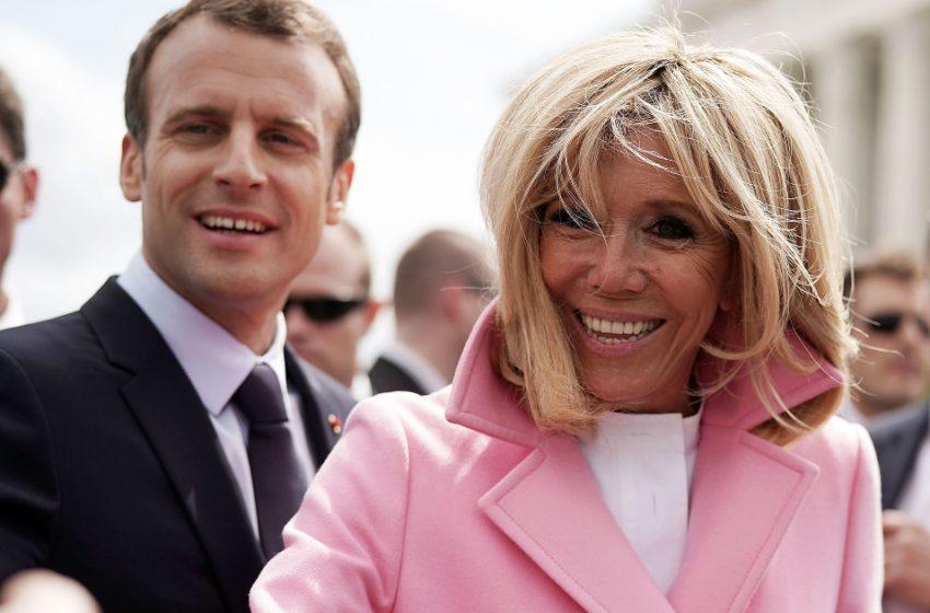 «Как же похожи!»: Пользователи Сети заметили внешнее сходство первой леди Франции в молодости со Скарлетт Йохансон