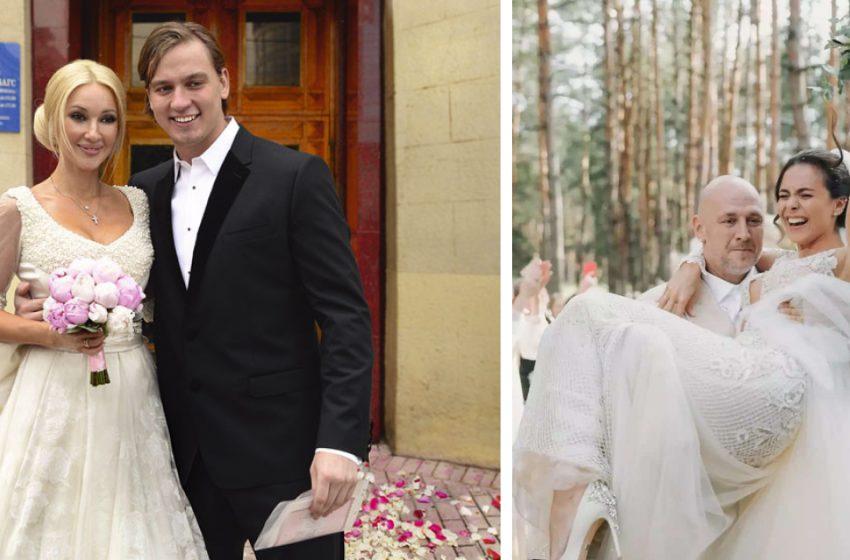«Такие красивые»։ Эксклюзивные фото со свадебных церемоний звёзд отечественного шоу-бизнеса
