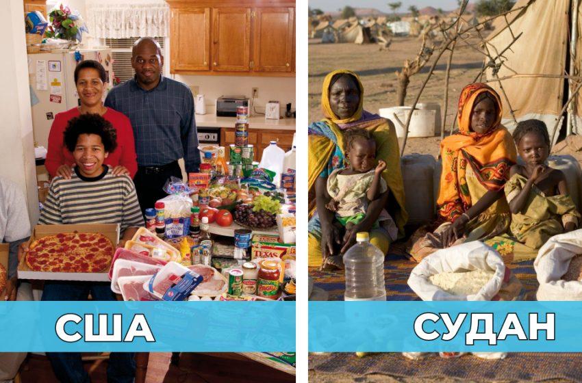 «Планета контрастов»: Как питаются люди в разных странах? Подборка ярких фото