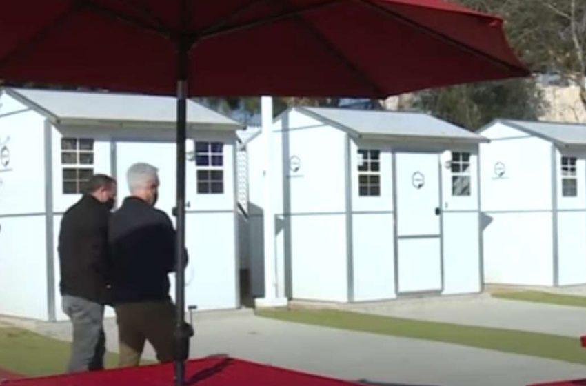 В Америке бездомным предложили дома площадью 6 метров