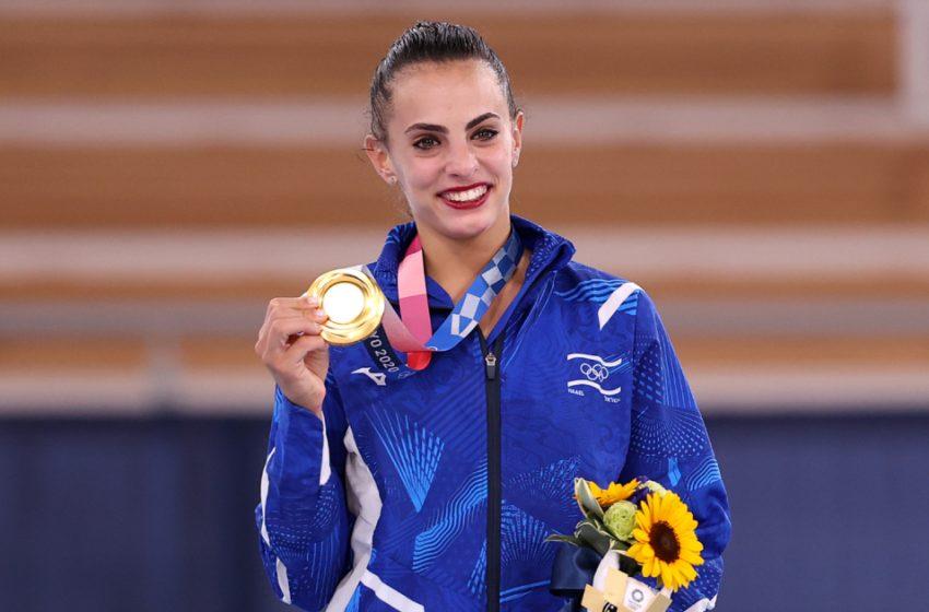 Линой Ашрам. Кто эта девушка которая принесла Израилю золото?