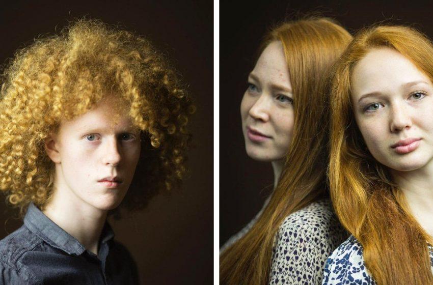 «Какая удивительная, неповторимая красота!»: Шотландец показал, как выглядят рыжие во всем мире