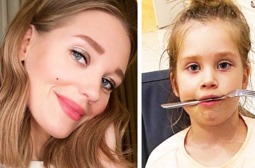 «Инстаграм и реальная жизнь»: Кристина Асмус показала веселые снимки дочери